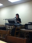 Melissa Champlion ministering in Music